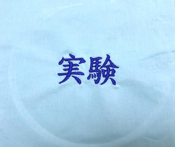 キレイな刺繍