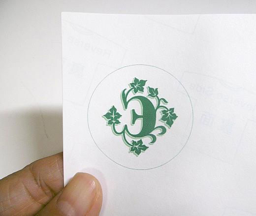 ロゴを印刷