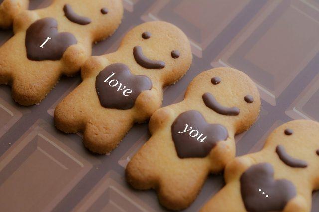 クッキーに印刷したイメージ写真