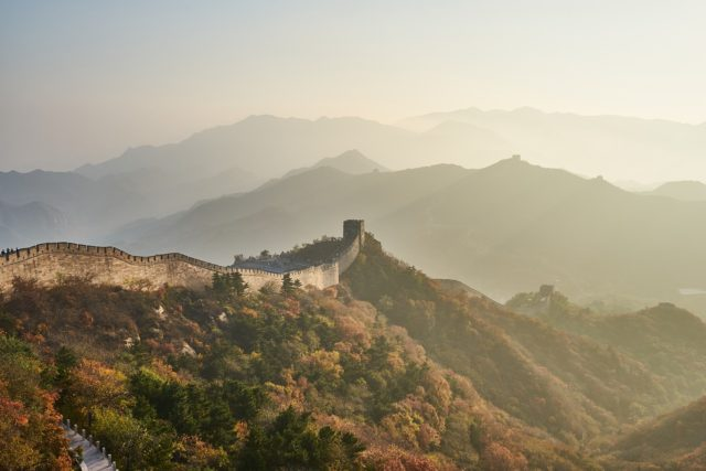 万里の長城の写真
