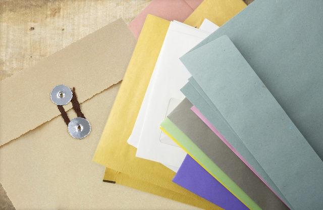 色々な封筒のイメージ画像